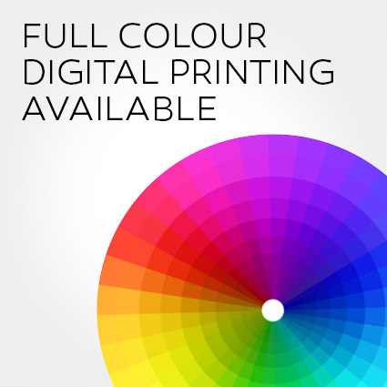 FULL COLOUR DIGITAL PRINTING
