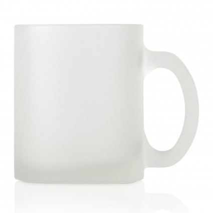Glass Mug Frosted