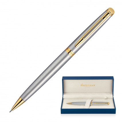 Pencil Mechanical Metal Waterman Hemisphere - Brushed Stainless GT