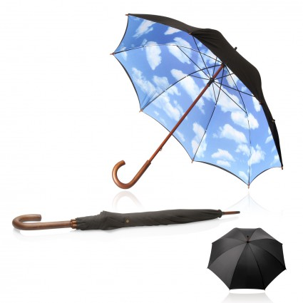 Umbrella 58cm Long Shelta Blue Sky