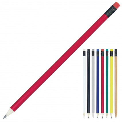 Pencil Sharpened Coloured Eraser